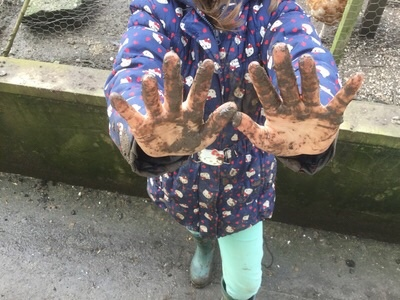 mud on hands-1